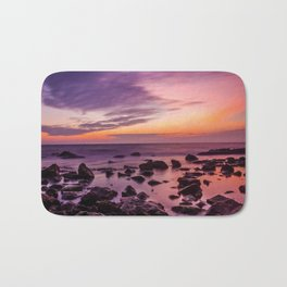 Waterscape with Sunset Bath Mat