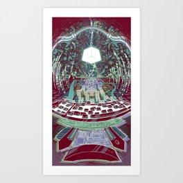 Neuromancer : Wintermute Art Print