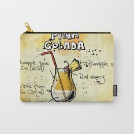 Cocktail Pina Colada Carry-All Pouch