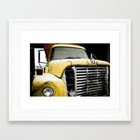 truck Framed Art Prints featuring Truck by Matt Muñoz