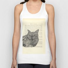 Meow Lounging Unisex Tank Top