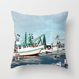 Pelican Guard Throw Pillow