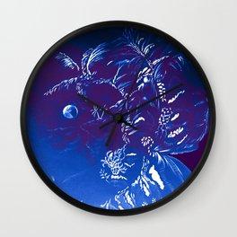 Moon Island Wall Clock