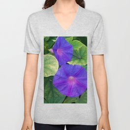 The nature is colorful Unisex V-Neck
