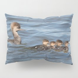 Momma and ducklings Pillow Sham