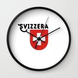 Confederazione Svizzera Wall Clock