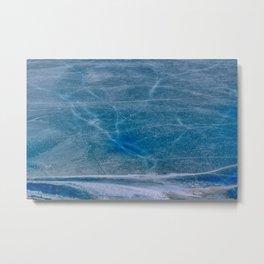 Ice Veins Metal Print
