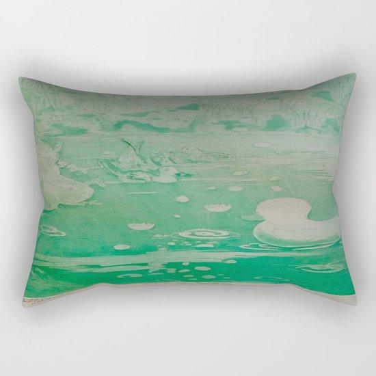 MoonSea Fantasy lightgreen Rectangular Pillow