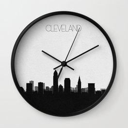 City Skylines: Cleveland Wall Clock