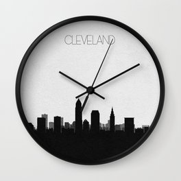 City Skylines: Cleveland Wall Clock