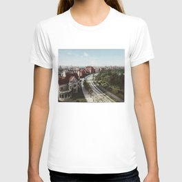 Vintage Brooklyn NY Photo-Print (1904) T-shirt