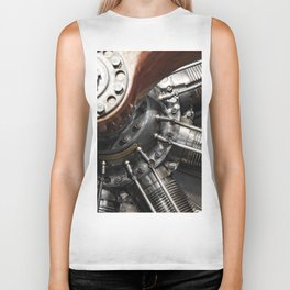 Airplane motor Biker Tank