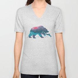 Bear Country Unisex V-Neck
