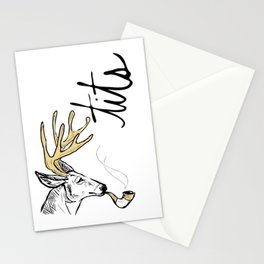 Dirty Dishes-- Stag Stationery Cards