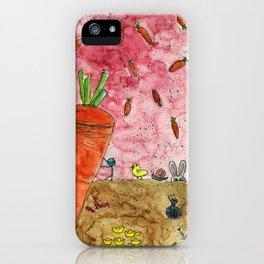 Everyone Love Carrot iPhone Case