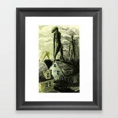 Dominion (color) Framed Art Print