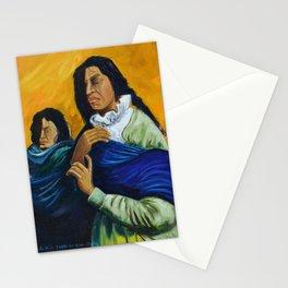 The Daughters of the Earth that Never Forgets Las Hijas de la Tierra que Nunca Olvida Stationery Cards