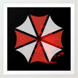 Umbrella Corporation Art Print