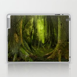 Mysterious ancient forest Laptop & iPad Skin