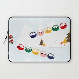 Ski cables Laptop Sleeve