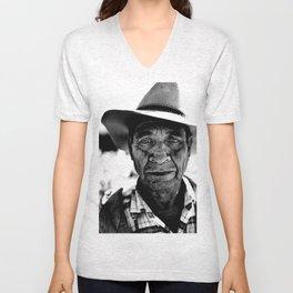 Ranchero Cowboy Unisex V-Neck