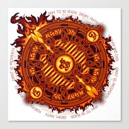 Ifrit Seal Canvas Print