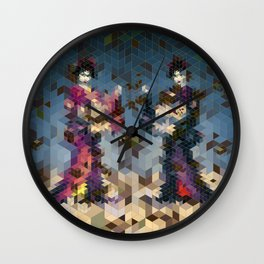Geishas Wall Clock