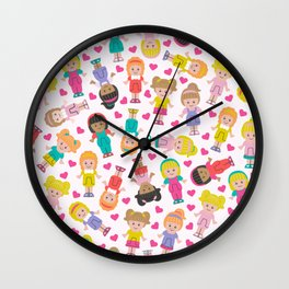 Polly Pocket Wall Clock