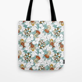 You and Me_Words in flowers Tote Bag