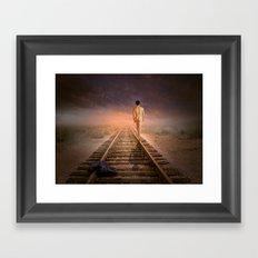 male nude art  Framed Art Print