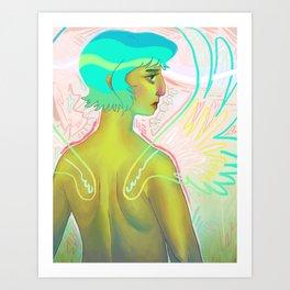 Wingzz Art Print