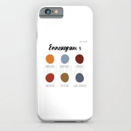 Enneagram 3 iPhone Case