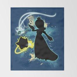 Super Smash Bros. Rosalina Silhouette Throw Blanket