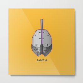 Loot#1 - Helm of Saint 14 Metal Print