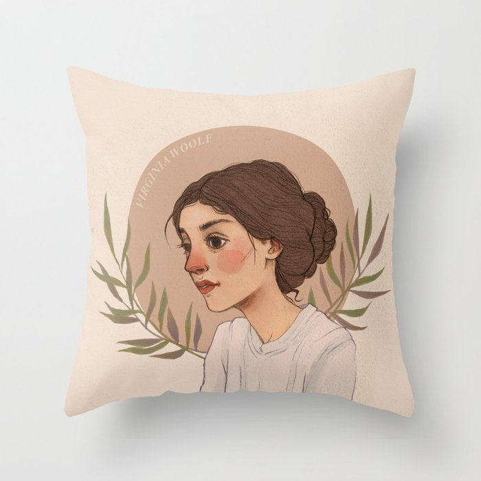 Virgnia Throw Pillow