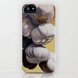 Garlic Still Life iPhone Case