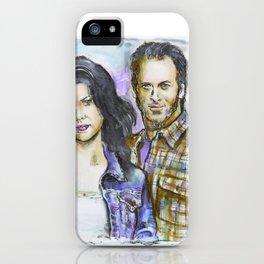 Gilmore Gilrs - Lorelai & Luke iPhone Case