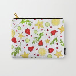 Fruits and vegetables pattern (6) Carry-All Pouch