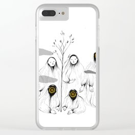 whos there - 1 Clear iPhone Case