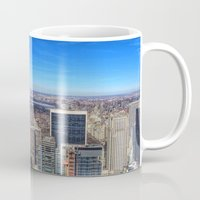 central park Mugs featuring Central Park by Christine Workman