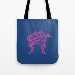 Dva type illustration Tote Bag