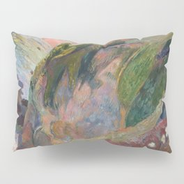 The Flageolet Player on the Cliff by Paul Gauguin Pillow Sham