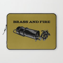 Brass and Fire Pressure Stove Laptop Sleeve
