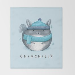 Chinchilly Throw Blanket