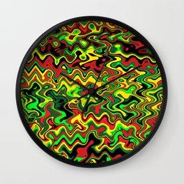 Rasta Vibrations Wall Clock