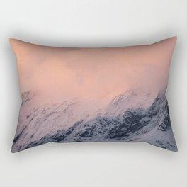Mount Aspiring Sunset Rectangular Pillow