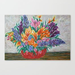 Flowers That Never Wilt Canvas Print