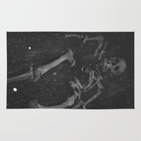 skeleton Area & Throw Rugs featuring Skeleton by Aderhine