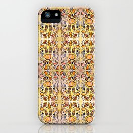 Fruit Out the Wazoot: Psychedelic Kaleidoscope iPhone Case