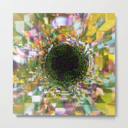 Plier - Multiplied views P of Alphabet collection Metal Print